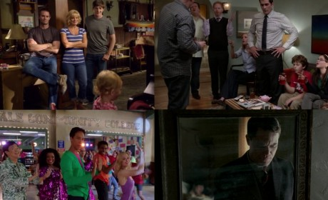 Raising Hope, Modern Family, Community & Boardwalk Empire