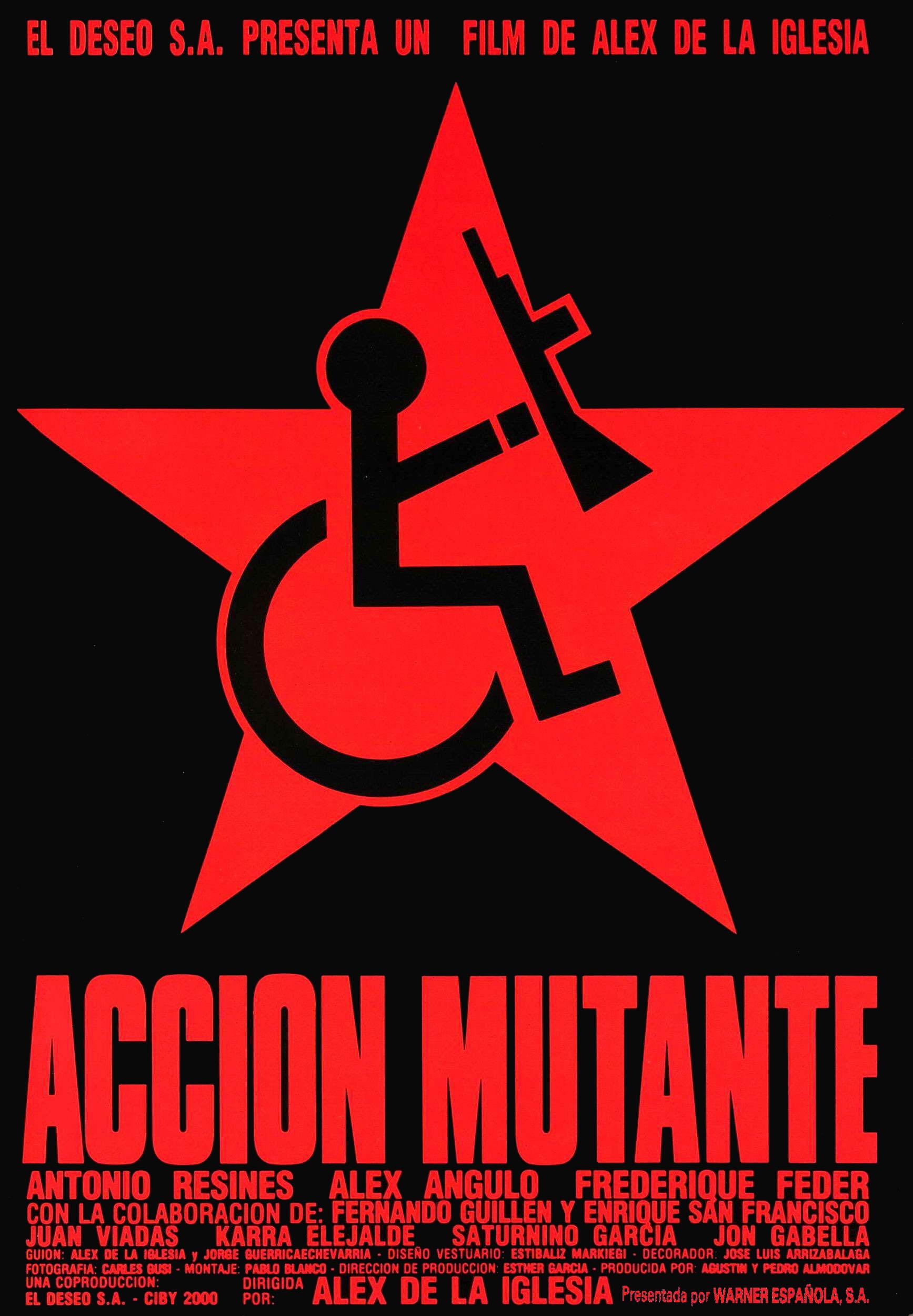"""*""""Ciclo Santiago segura""""*[Accion mutante] 1993-Accion-mutante-esp-01"""