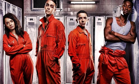 Misfits series 4 - Ensemble cast