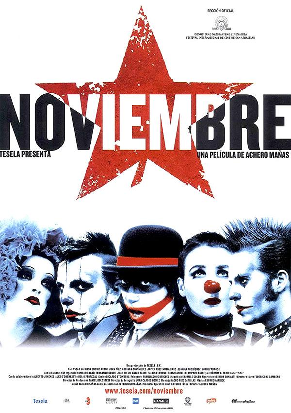 Noviembre (2003) de Achero Mañas