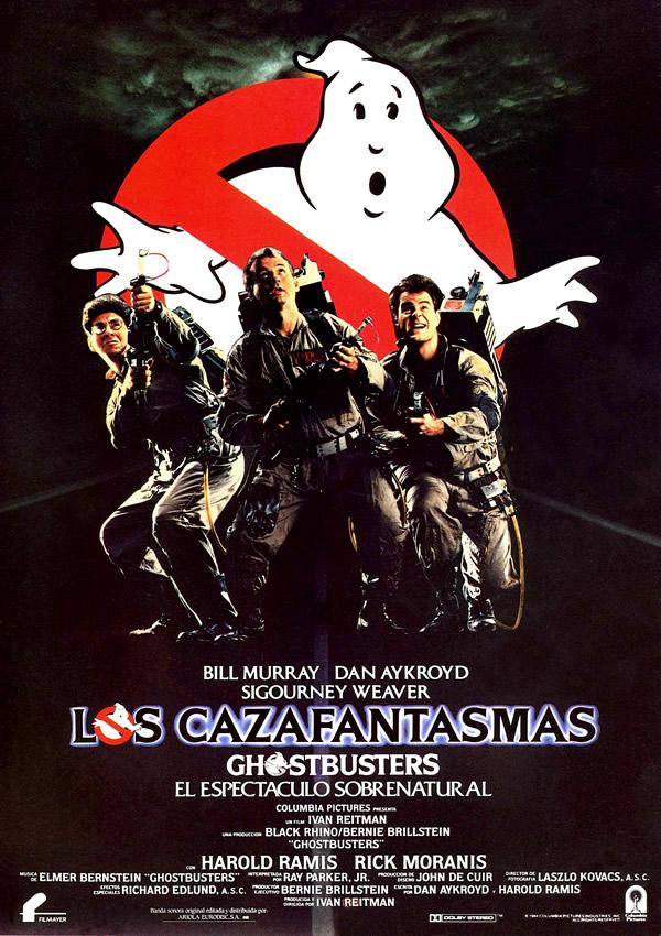 Los cazafantasmas (1984) de Ivan Reitman