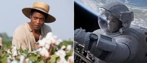 12 años de esclavitud vs. Gravity
