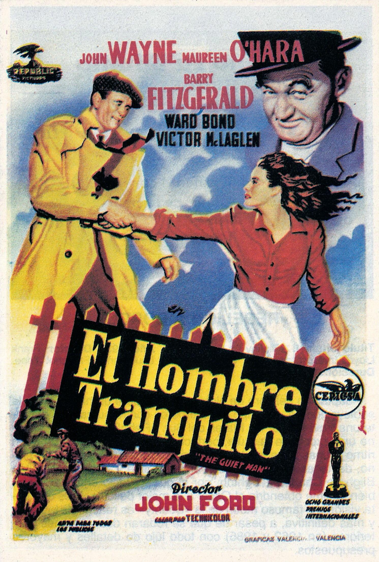 2018 Ford Torino >> El hombre tranquilo (1952) de John Ford : EnClave de Cine
