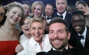 Oscars 2014: Selfie de Ellen