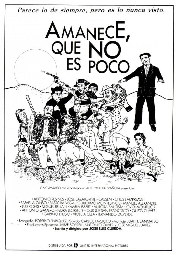 Amanece que no es poco (1989) de José Luis Cuerda