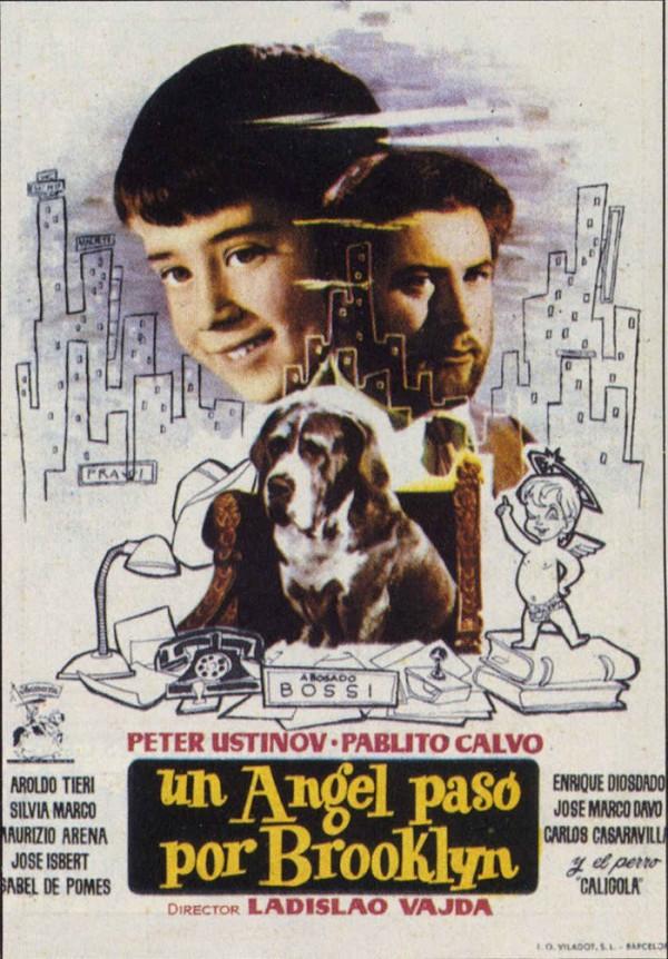 Un ángel pasó por Brooklyn (1957) de Ladislao Vajda