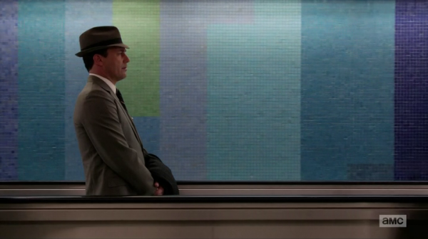 Mad Men 7x01: Time zones