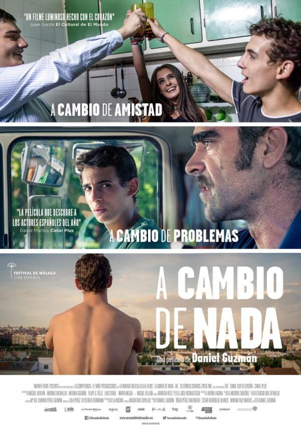 A cambio de nada (2015) de Daniel Guzmán