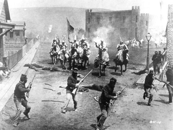 El nacimiento de una nación (1915) de D.W. Griffith