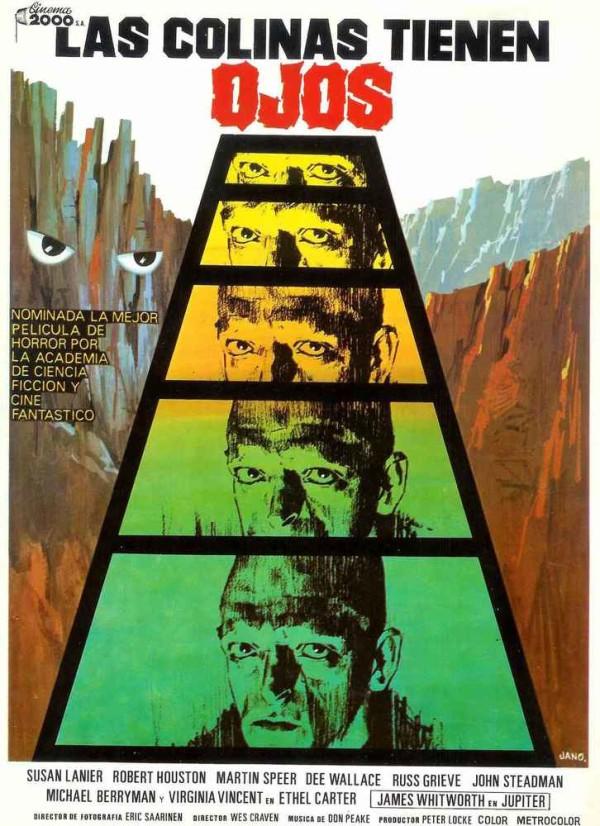 Las colinas tienen ojos (1977) de Wes Craven