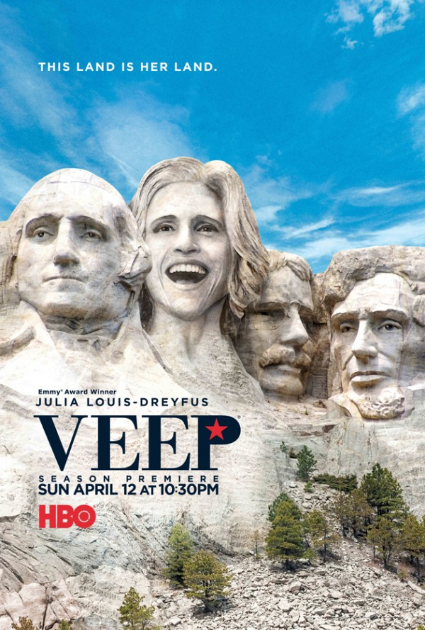 Veep season 4 poster