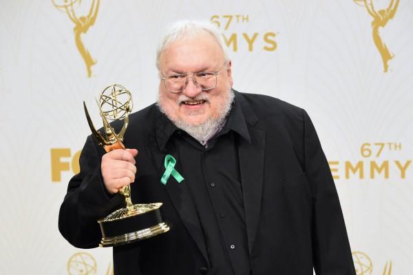 Emmys 2015: George R.R. Martin (Juego de tronos)