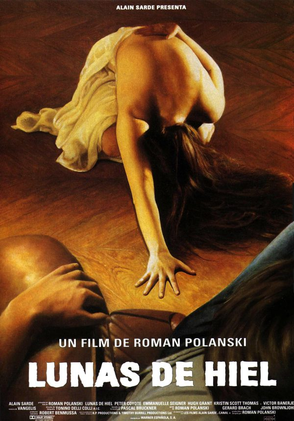 Lunas de hiel (1992) de Roman Polanski