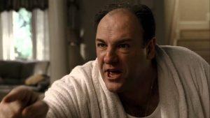angry Tony Soprano
