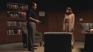 Tony Soprano and Dr. Melfi