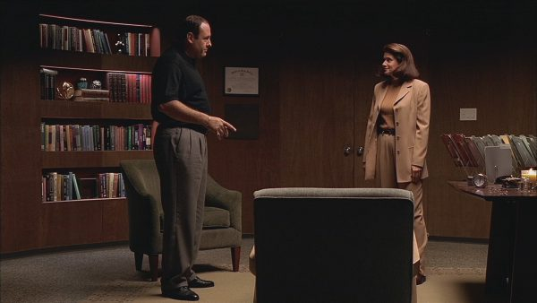 Tony Soprano and Dr. Melfi