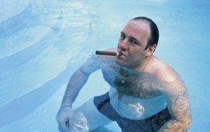 Tony Soprano swimming pool