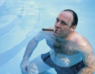 Tony Soprano swimming pool