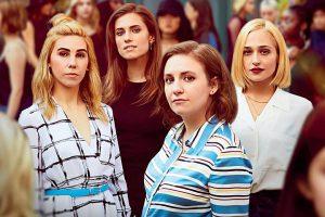 Foto promocional de la 6ª y última temporada de Girls con Zosia Mamet, Allison Williams, Lena Dunham y Jemima Kirke