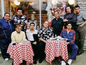 The Sopranos ensemble